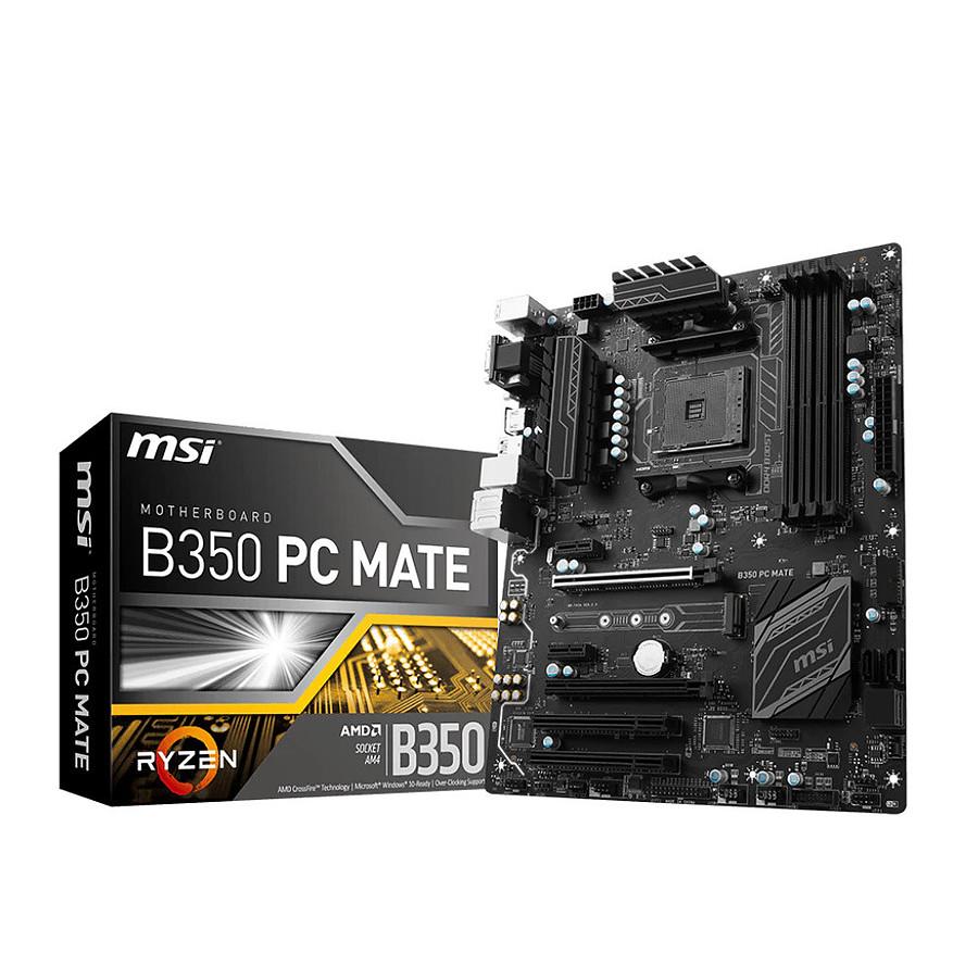 msi b350 pc mate manual